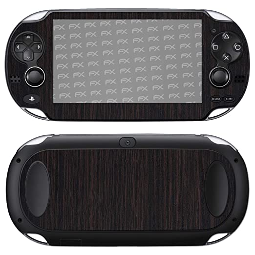 atFoliX Skin compatible con Sony PlayStation Vita, Sticker ...