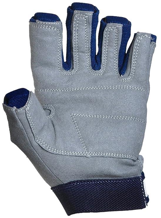 Bootsport Bekleidung crazy4sailing Amara Kunstleder Segelhandschuhe Offshore 2 Finger-frei Segeln