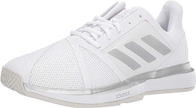 adidas CourtJam Bounce Zapatillas de tenis anchas para mujer ...