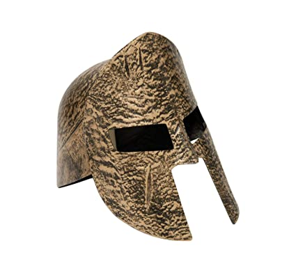 40709b5b65b Image Unavailable. Image not available for. Color  Forum Novelties Greek  Roman Spartan Warrior Knight Gold Costume Helmet