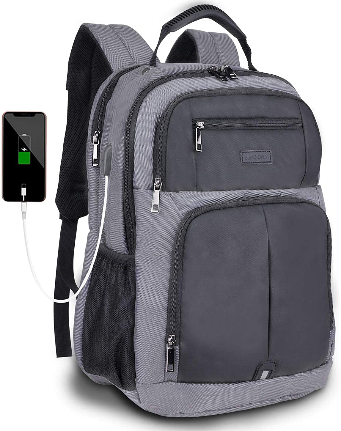 Travel Laptop Backpack, Business School Backpack with USB Fits 16 Inch Notebook Computer Bag for Women Men