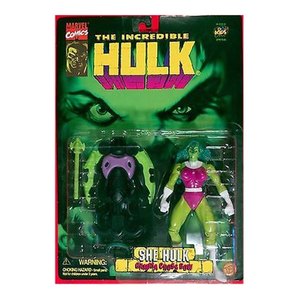 Amazon.com: Vintage 1996 The Incredible Hulk She-Hulk 6 1/4 Inch ...