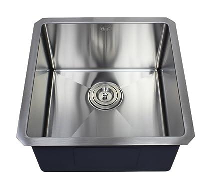 Delightful Ariel 18u0026quot; X 18u0026quot; Single Bowl Undermount Kitchen Sink