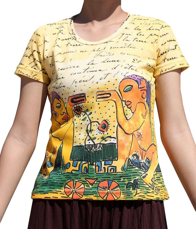 RaanPahMuang Brand Paul Gauguin - Camiseta de Manga Corta ...