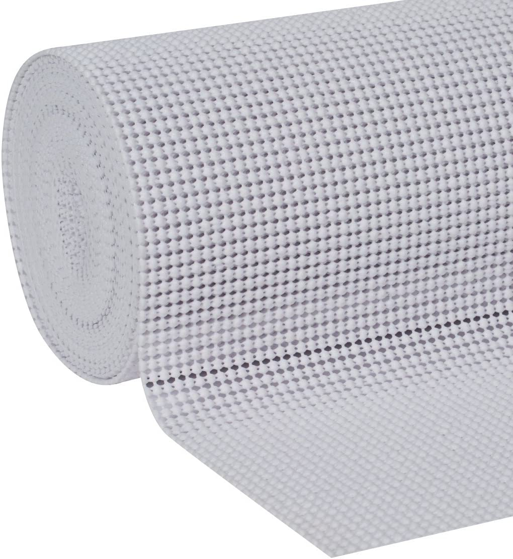 2-Pack 20-Inch x 24-Feet White Non-Adhesive Non-Adhesive 281877, Duck Brand Select Grip EasyLiner Shelf and Drawer Liner