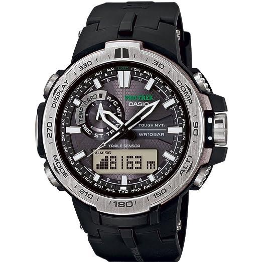 Casio PRW-6000-1ER - Reloj (Reloj de Pulsera, Resina, Negro