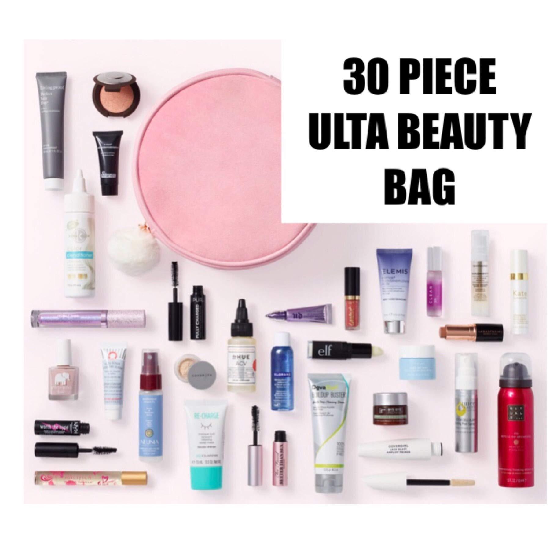 Ulta 30 Piece Beauty Bag Set Platinum Perk Multi Brand