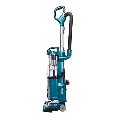 Shark DuoClean Ultra Powerful Slim Upright Vacuum, Blue (Renewed)