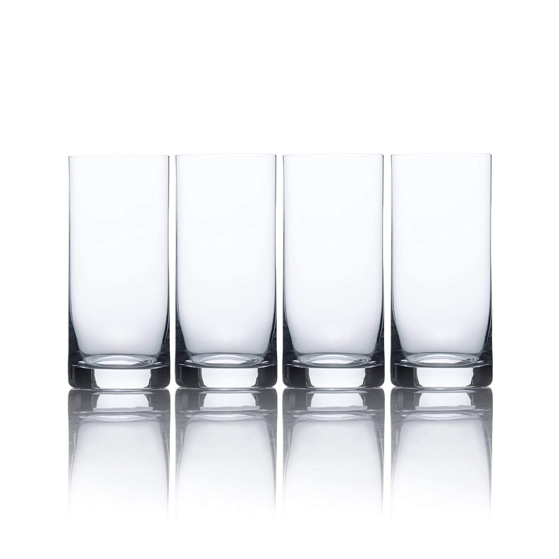 Mikasa Laura High Ball Glass, 15.5-Ounce, Set of 4 5142439