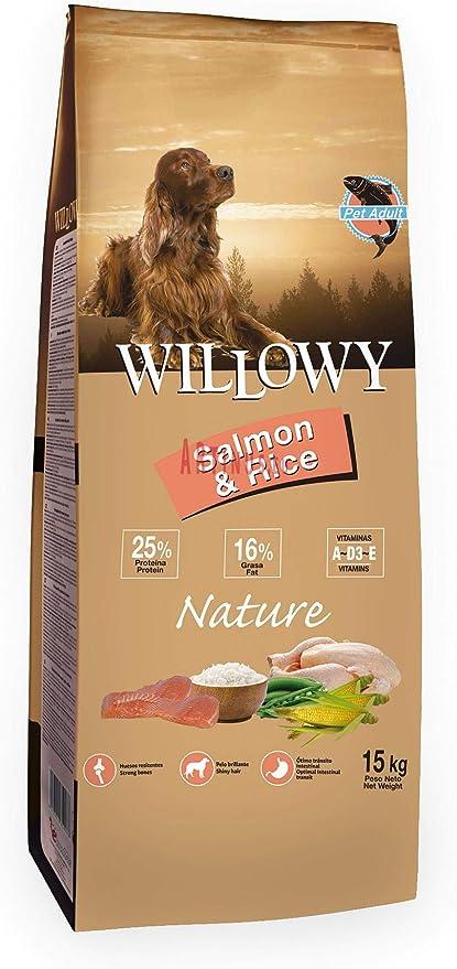 Willowy Nature Adult Salmón & Arroz. Saco 15 Kg.