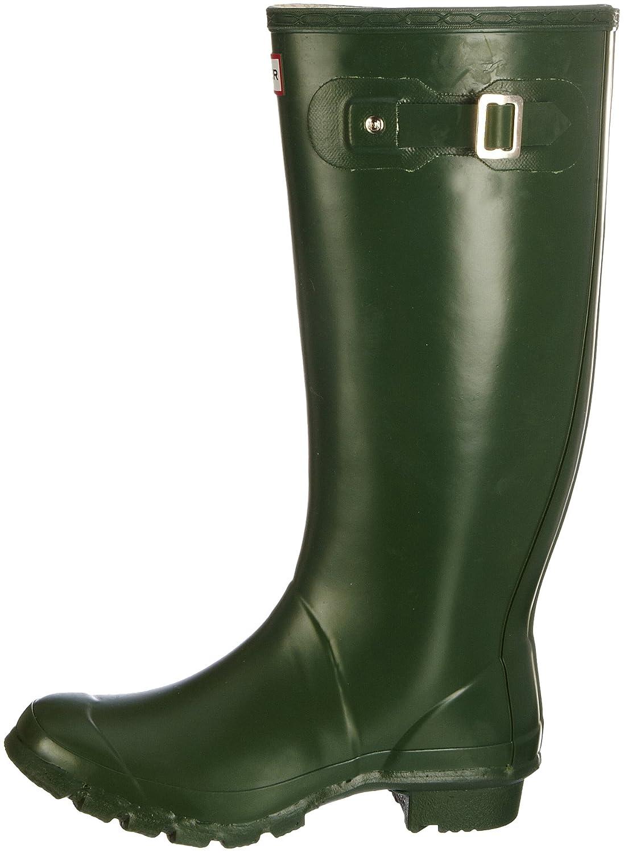 Hunter Women's Huntress Wellies Green W23179 4 UK: Amazon.co.uk: Shoes &  Bags