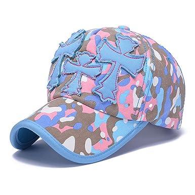 c31b64f7 Llxln Snapback Caps Men Embroidery Cross Baseball Caps Camouflage Women's  Cotton Hip Hop Cap Unisex Sun Visor Dad Hat for Women Bone A: Amazon.co.uk:  ...