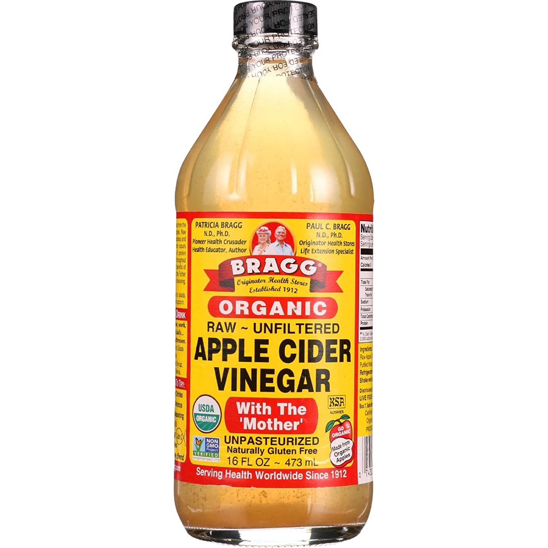Bragg Apple Cider Vinegar - Organic - Raw - Unfiltered - 16 oz - case of 12