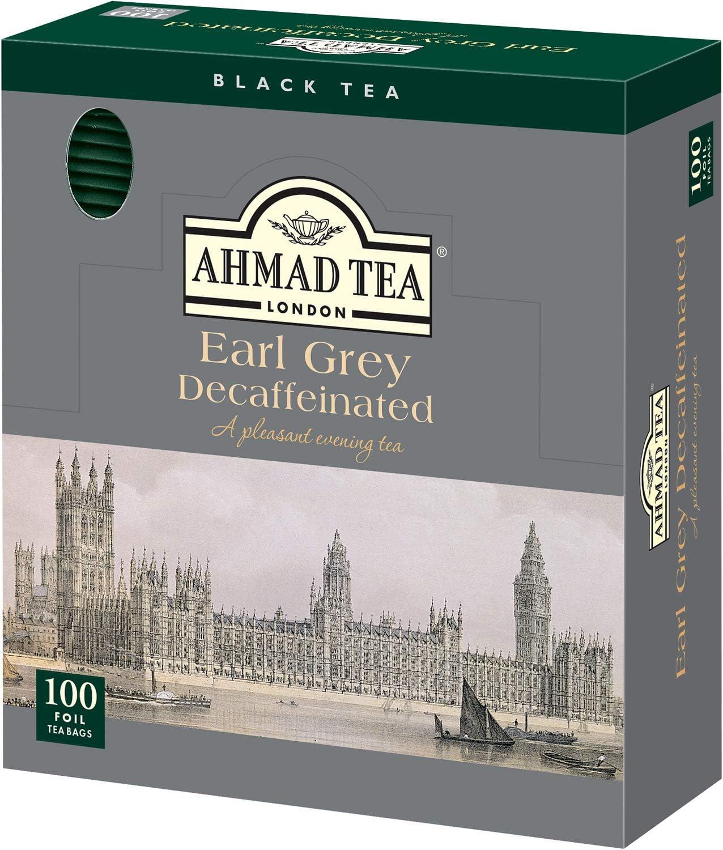 AHMAD TEA ( アーマッドティー ) デカフェ アールグレイ ティーバッグ