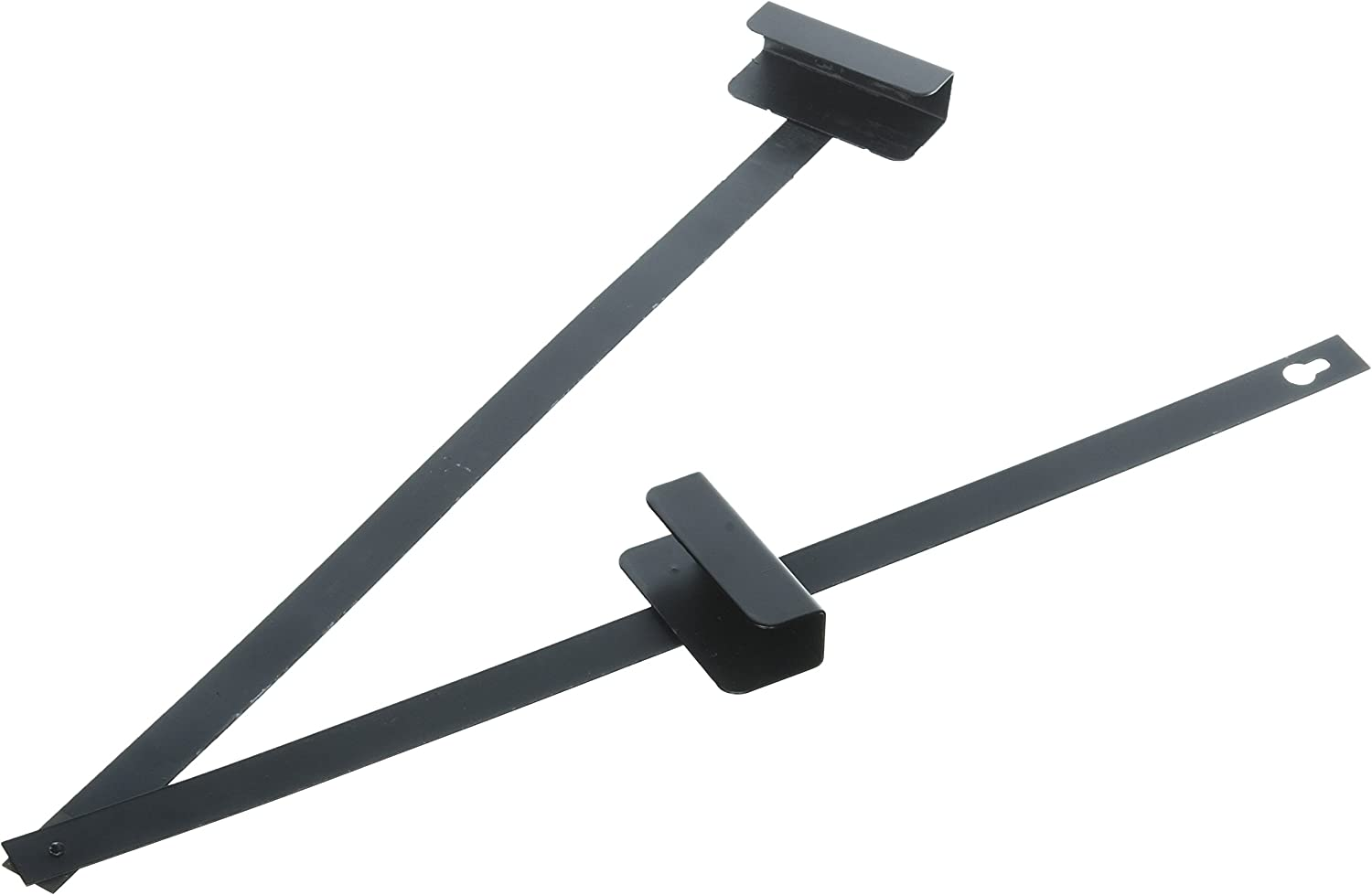 Oriental Furniture Silk Screen Brackets - Black - 36""