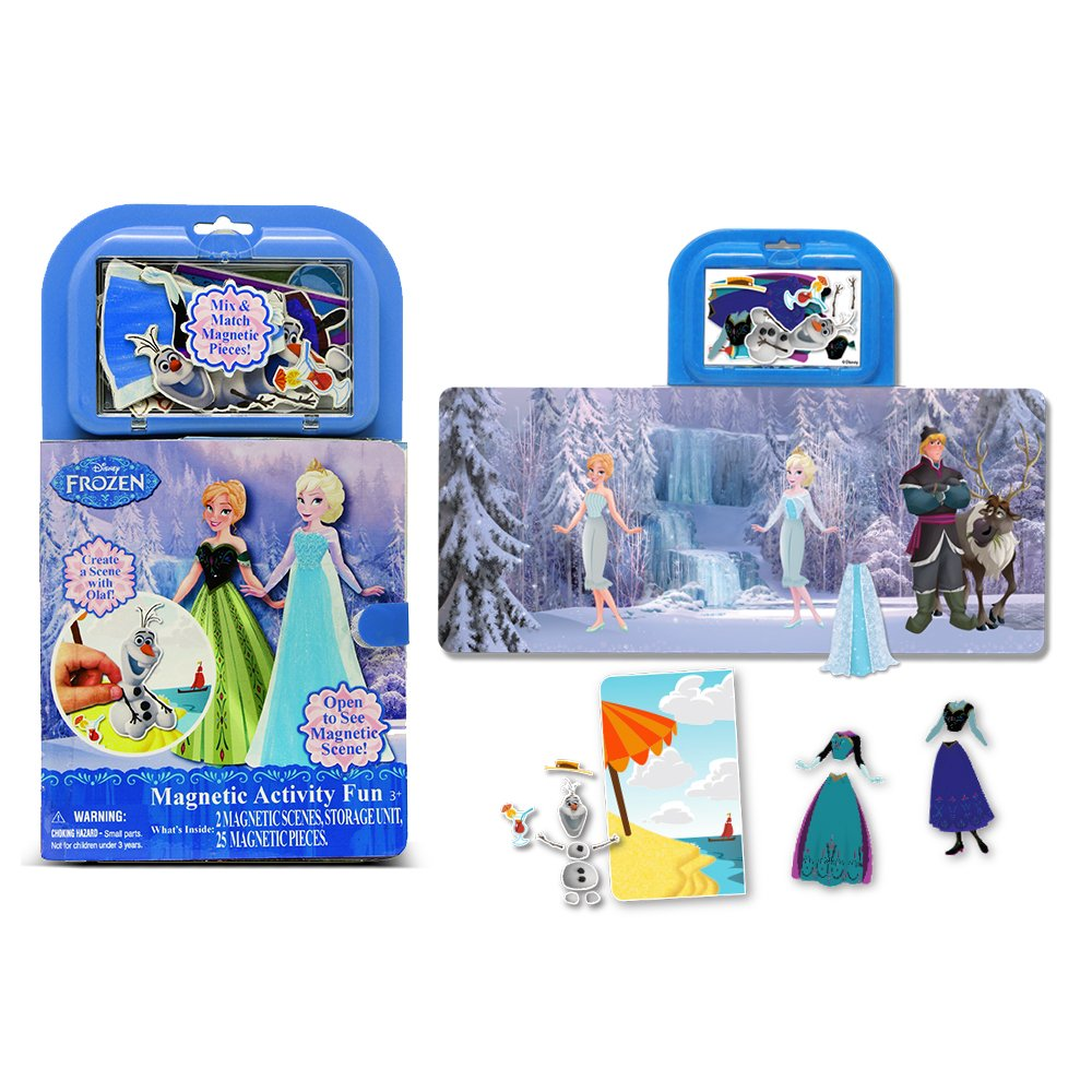 Amazon.com: Tara Toy Frozen Magnetic Activity Fun Kit: Toys & Games