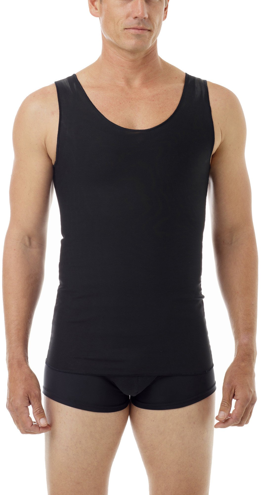 Underworks FTM Gynecomastia Ultimate Chest Binder Tank 997-3-Pack - Black X-Small