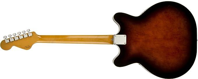 Guitarra eléctrica Fender hn145598 Coronado RW - Black Cherry Burst: Amazon.es: Instrumentos musicales