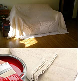 5 x quality 100 cotton twill heavy duty dust sheets for decorating jms