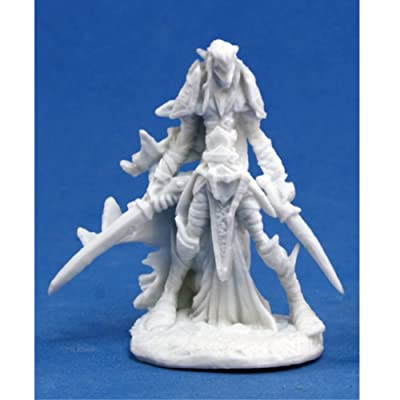 Reaper Dark Elf Warrior (1) Miniature by: Toys & Games