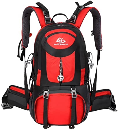 ANYA SMART 50L Waterproof Hiking Backpack Camping Backpack.