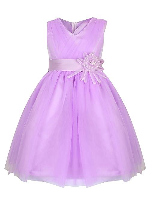 Con tira en el fiesta princesa vestido de niña para - 4 - Colores disponibles Blanco, para vino, diseño de lilas, blanco y rosa - de costura para vestidos ...