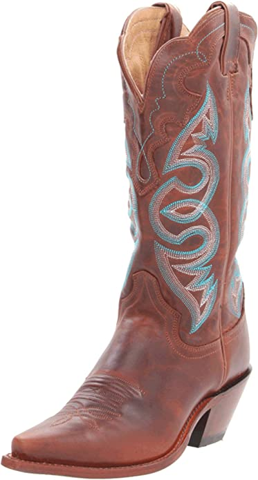 c00612f1766 Justin Boots Women's Classic Western Boot Narrow Square Toe Shoe