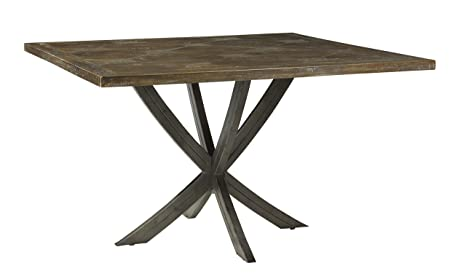 Amazon Com French Heritage Caruso Square Dining Table Timber Wood