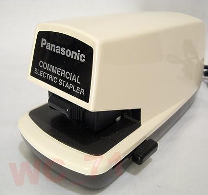 amazon com panasonic as 300n commercial electric stapler desk rh amazon com panasonic electric stapler as-302n manual Panasonic Electric Stapler as 300Nn