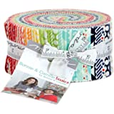 Bonnie and Camille Basics Jelly Roll 40 2.5-inch Strips Moda Fabrics