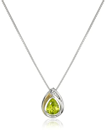 collection shop initial birthstone light necklaces necklace green peridot august gold beadage