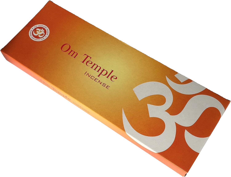 Om Temple Masala Incense Sticks - Om Temple Incense Sticks - Caja ...