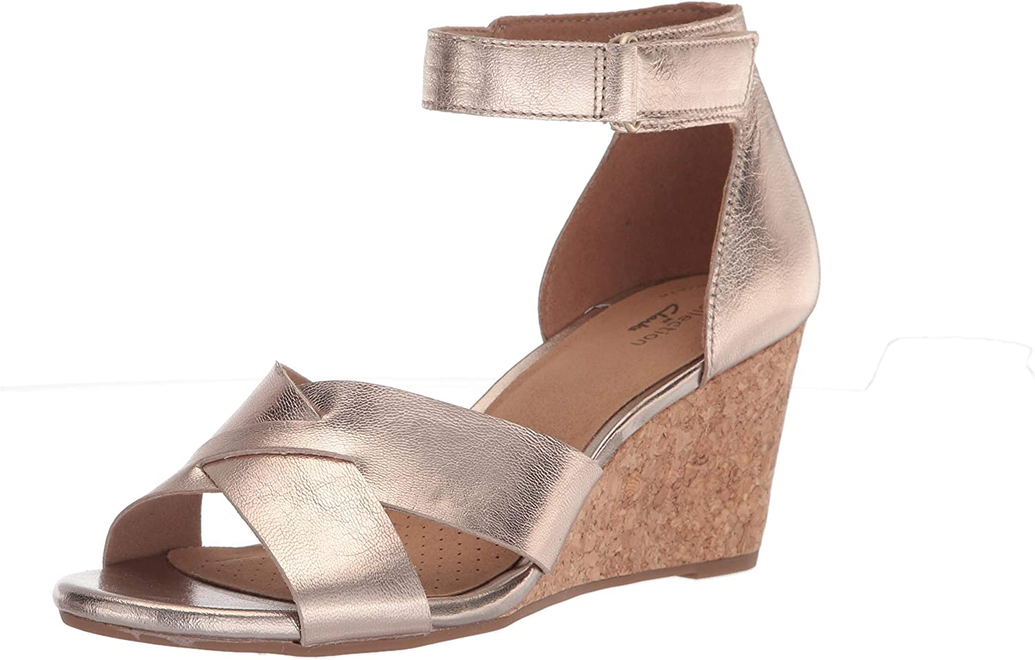 Free shipping on Virginia Beach Mall posting reviews Clarks Women's Margee Sandal Gracie Wedge
