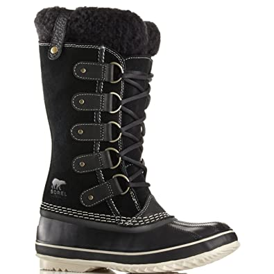 sorel Joan Of Artic Suede and Shearling Winter Boots gos9vPf1bl