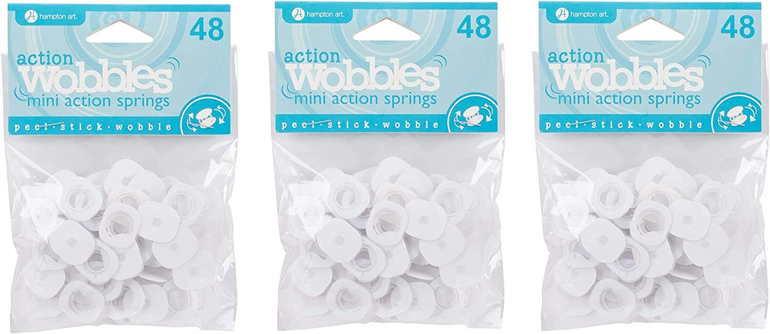 Mini Wobble Spring 48//Pkg