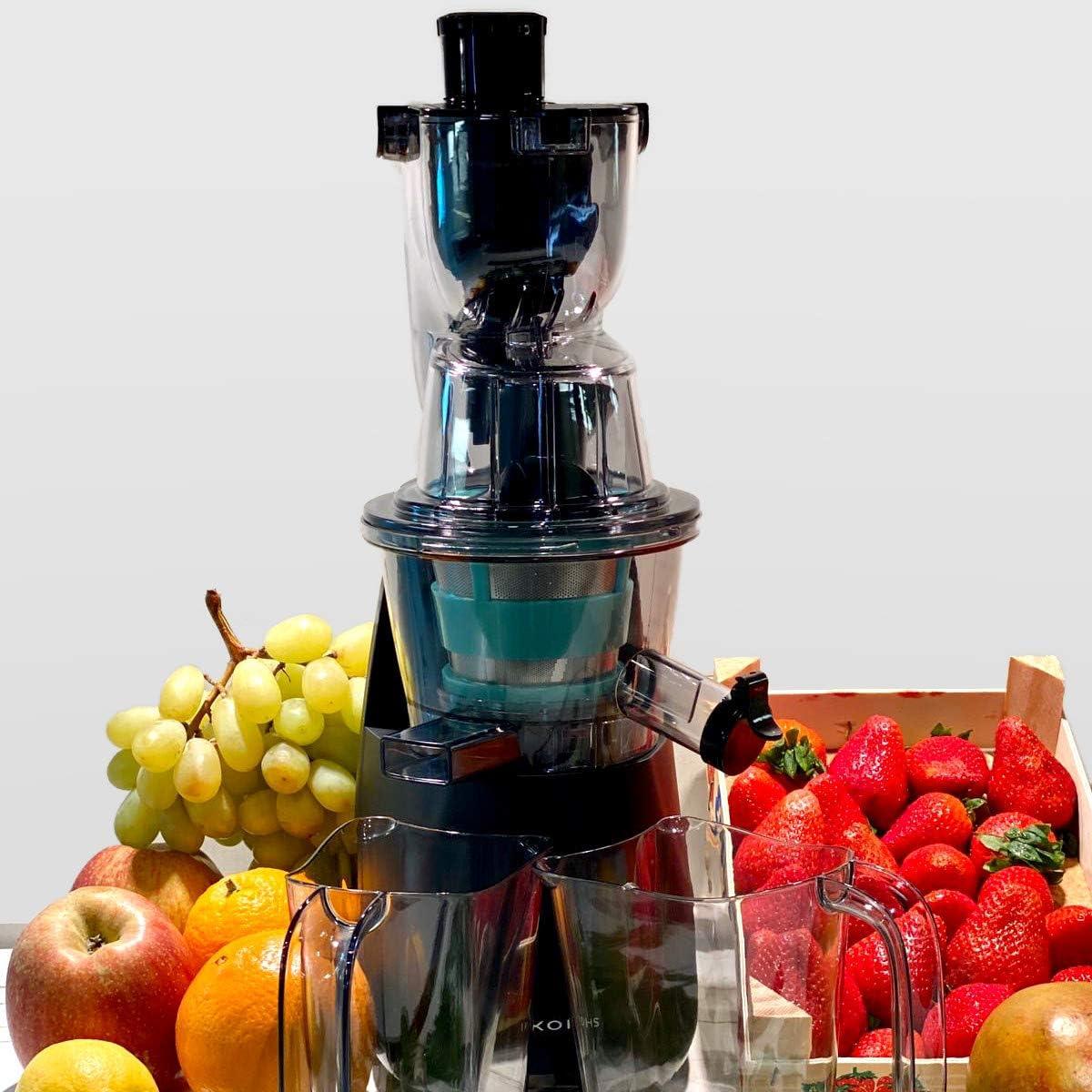 Noir Blender presse-agrumes /à extraction lente IKOHS WONDERTVIT