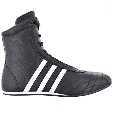 adidas Prajna High 382158 Schuhe Boxerschuhe Schwarz Leder Gr. EU 38 2 3 UK 336f6b111b