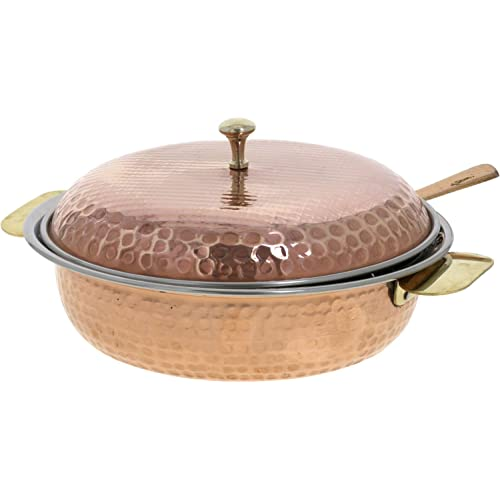 Indian Serveware Donga Copper Serving Bowl Tureen