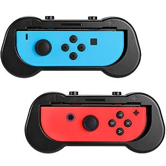 Kit de Agarre para Nintendo Switch Joy-Con, Juego de Detección de Movimiento Compatible