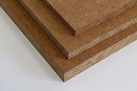 16//19 25mm 22 MySpiegel.de Tischplatte Holz Zuschnitt nach Ma/ß Holzzuschnitt MDF Platte in 8//12 100 x 100 cm, 16mm St/ärke