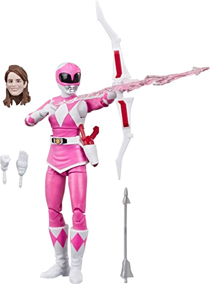 Hasbro Power Rangers Lightning Collection Wave 2 MMPR Pink Ranger