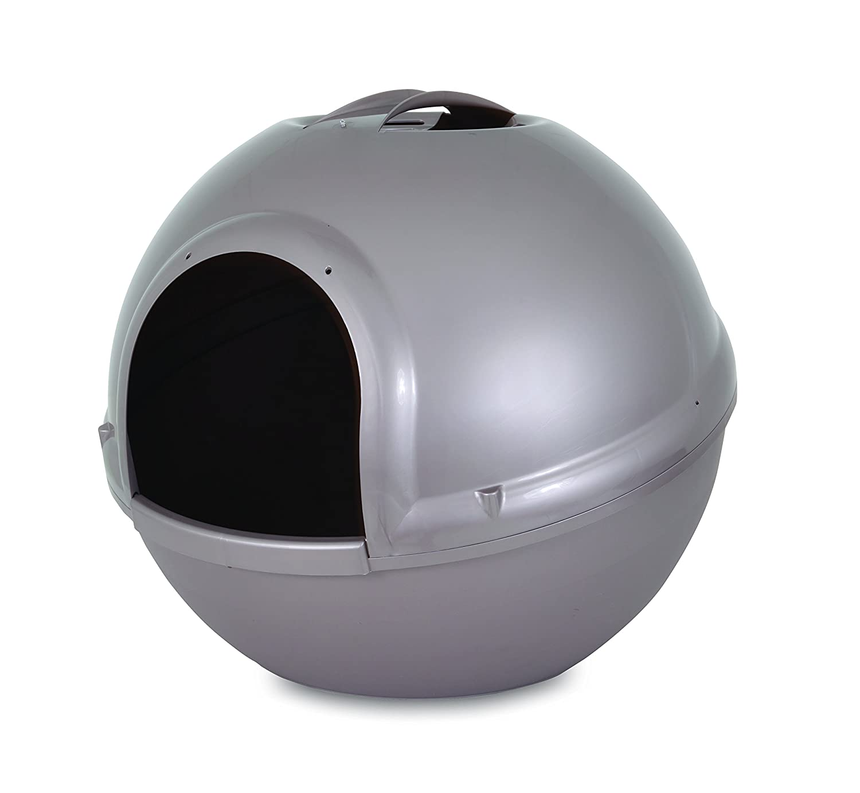 Amazoncom Petmate Booda Dome Pearl Litter Box Grey Pet Supplies