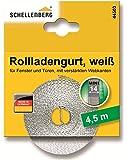 Schellenberg 44503 Rollladengurt 14 mm/4.5 m, weiß