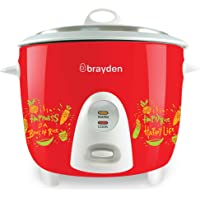 Brayden Rizo, Electric Rice Cooker with One-Step Automatic Cooking (Pearl White, 1.5 Litre)
