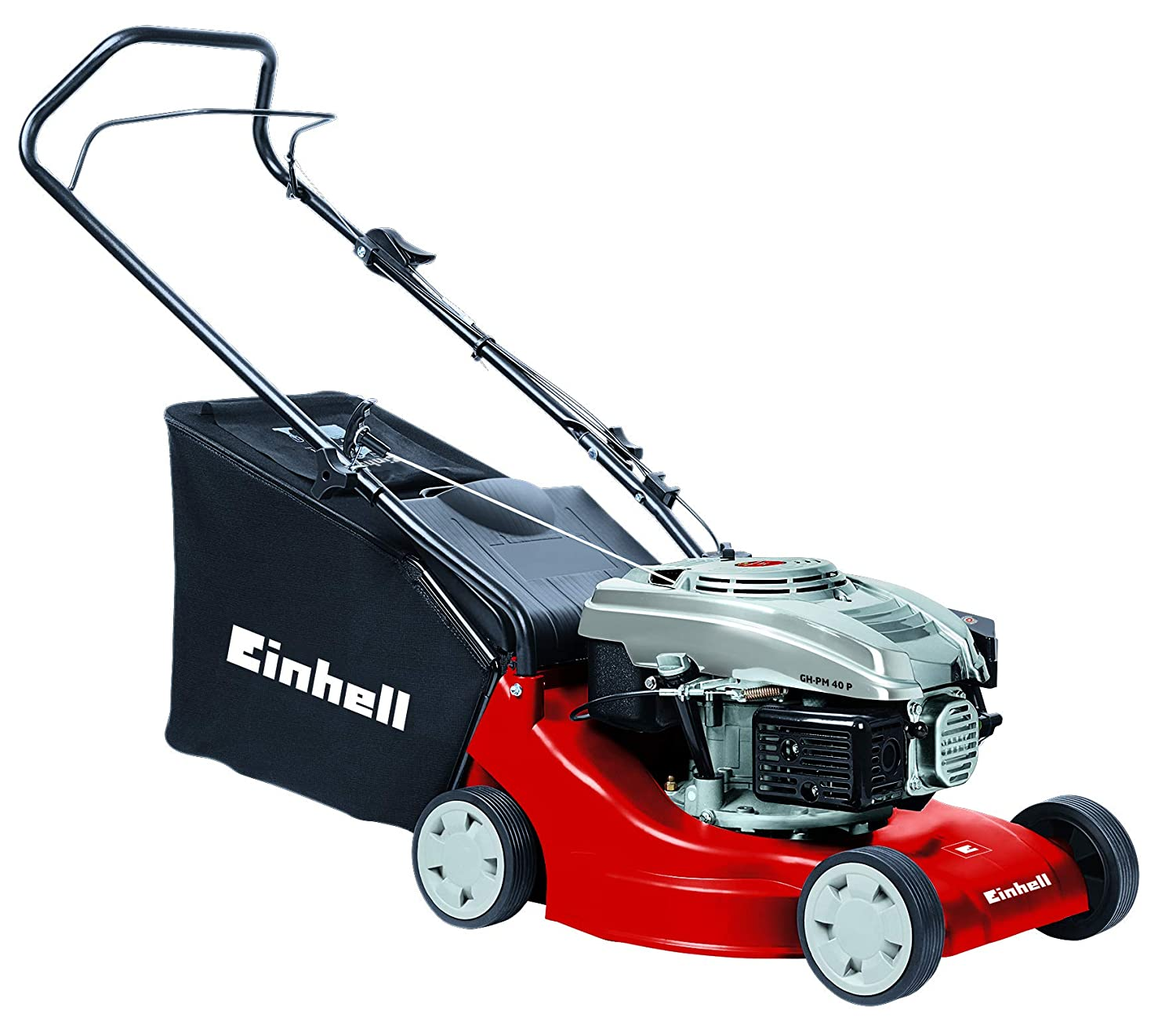 Einhell GH-PM 40 P Push Petrol Lawnmower with 40 cm Cutting Width - Red 3401013