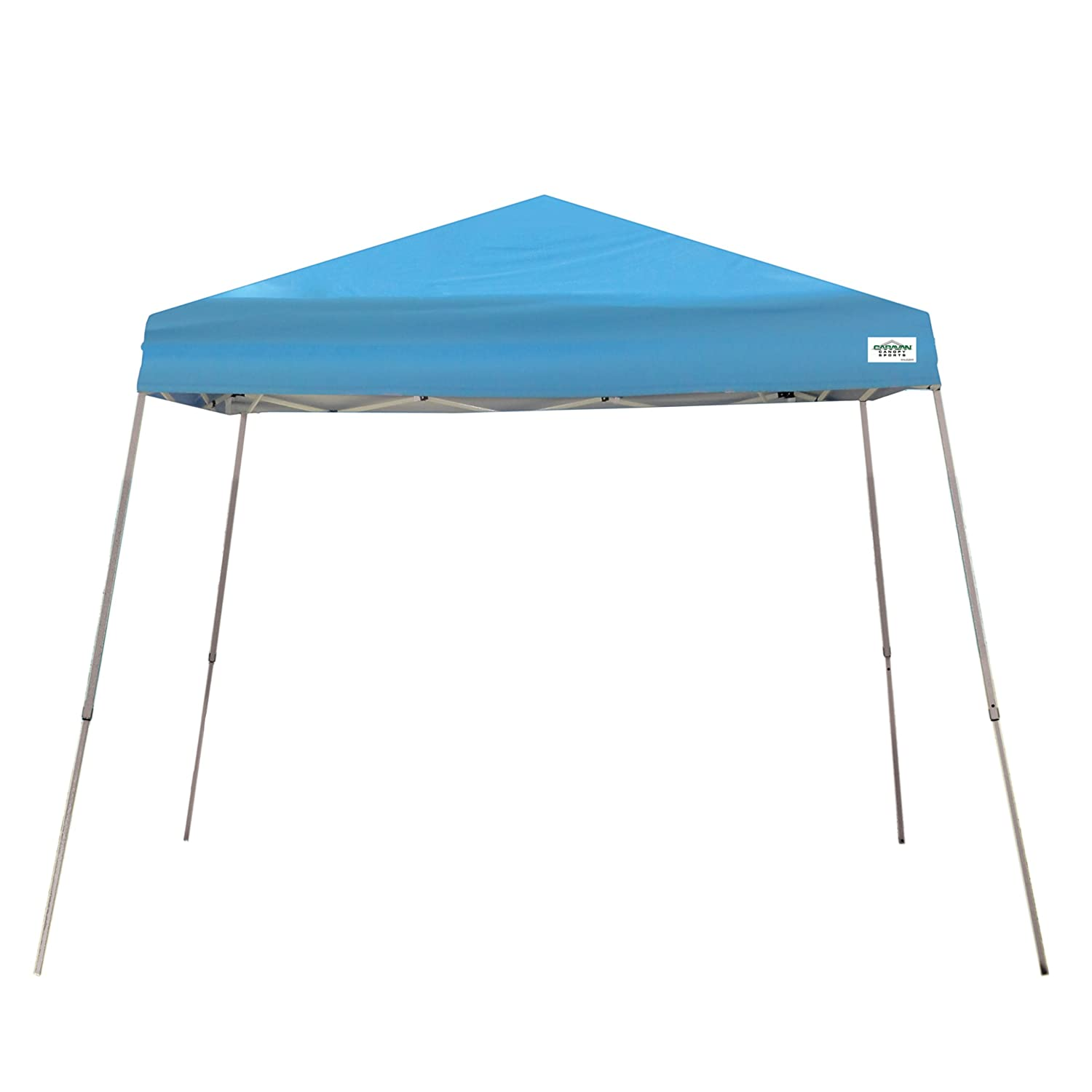 Caravan Canopy V-Series 10 X 10-Feet Instant Canopy, Blue Discontinued by Manufacturer
