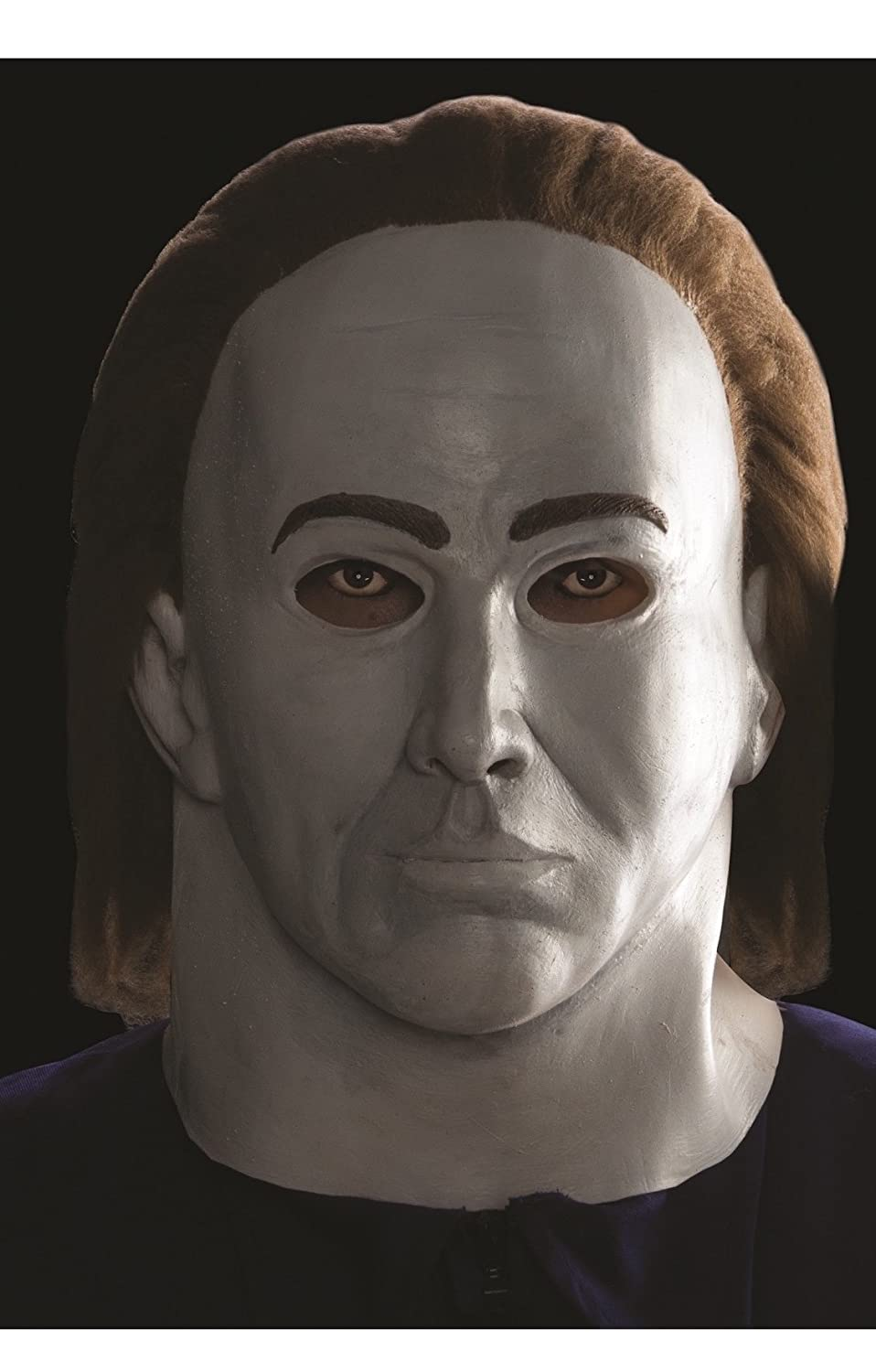 Halloween Michael Myers Adult Deluxe Latex Costume Mask: Amazon.es: Juguetes y juegos