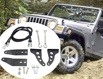 fe9fc3b9bbc73 Amazon.com  MFC Limb Risers Kit (for TJ Jeep Wrangler Exterior ...