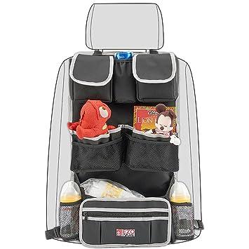 Organizador Coche,EZOWare EZOWare Auto Asiento Trasero,Protectores contra patadas para asiento de coche: Amazon.es: Hogar