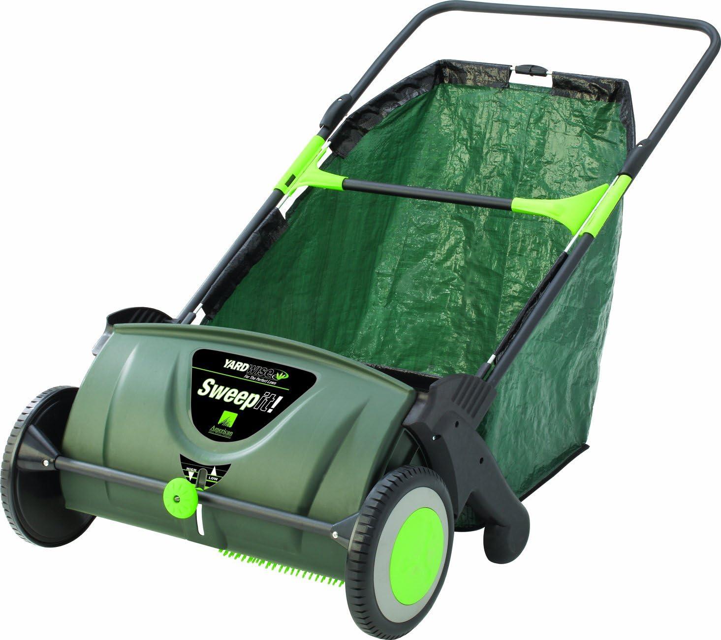 best lawn sweeper for zero Turn